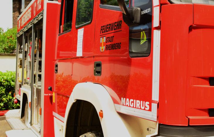 Rheinberg – Feuerwehr Rheinberg – Verkehrsunfall