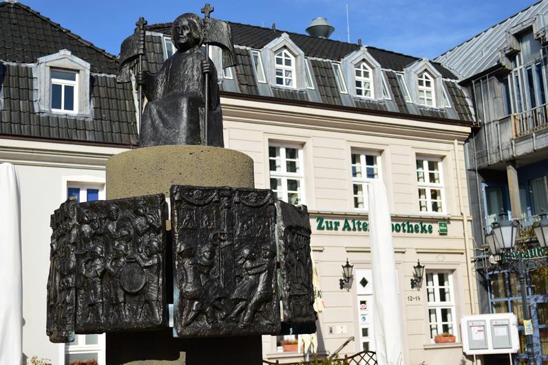 Marktplatz Rheinberg Mitte