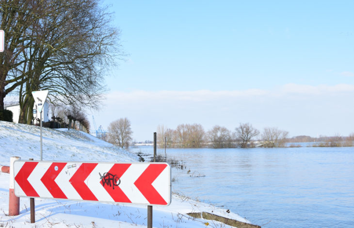 Kreis Wesel/Duisburg – aktueller Hochwasserpegel der Wasserstraßen- und Schifffahrtsverwaltung des Bundes