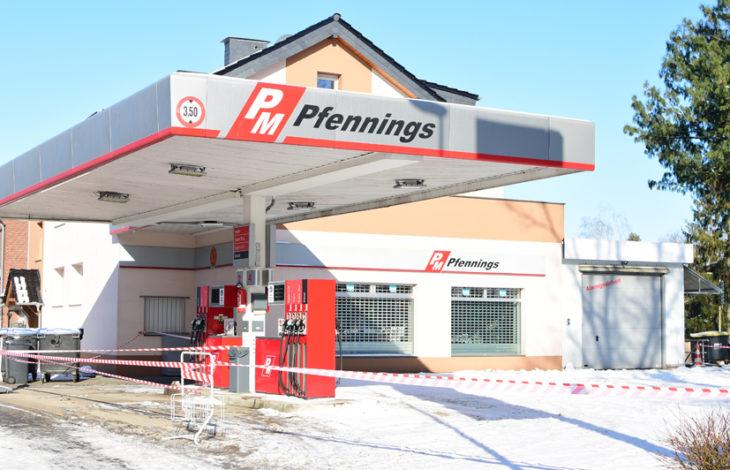 Rheinberg Orsoy – Update 17.49 Uhr – PM Tankstelle Pfennings öffnet voraussichtlich Montag