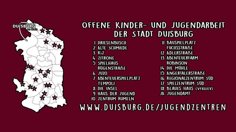 Stadt Duisburg – Internationale Wochen gegen Rassismus – Duisburger Jugendzentren setzen Zeichen gegen Diskriminierung