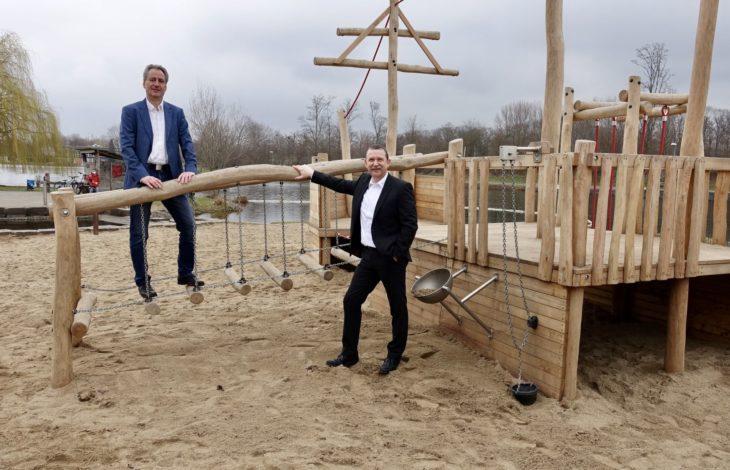 Stadt Duisburg – Neues Spielschiff im Sportpark Duisburg