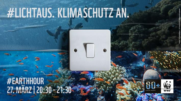 Stadt Rheinberg – Earth Hour 2021 in Rheinberg – Licht aus. Klimaschutz an