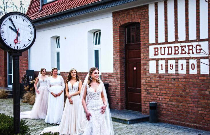Rheinberg/Moers – Heiraten in Zeiten von Corona – Brautmoden-Fotoshooting im Budberger Bahnhof als Signal der Zuversicht