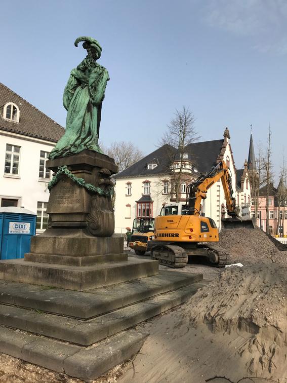 Stadt Moers – Kleine Allee gesperrt