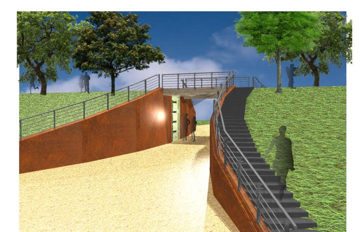 Stadt Moers – Durchstich vom Schlosspark in den Freizeitpark startet