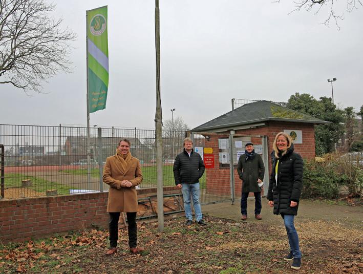 Stadt Moers – Sportanlage in Schwafheim: Kunstrasen statt Asche und Öffnung für alle