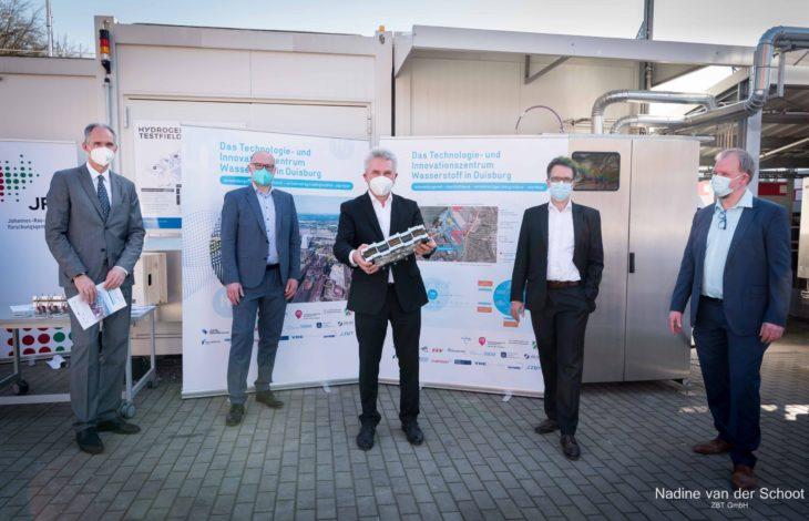 Stadt Duisburg – Duisburg wird zum Magnet für die Wasserstoffwirtschaft