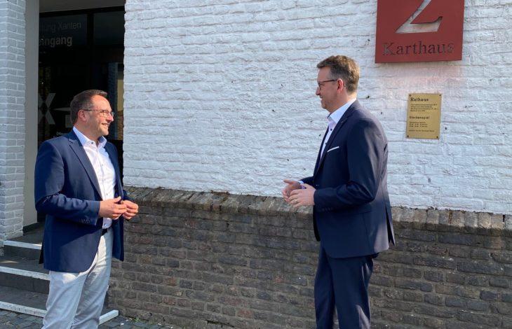 Stadt Xanten – Landrat zu Gast bei Xantens Bürgermeister