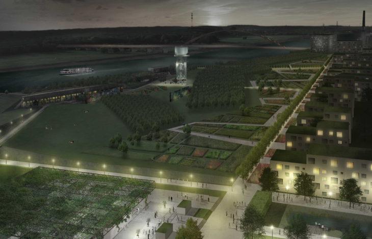 Stadt Duisburg – IGA Metropole Ruhr 2027: Jury präsentiert die besten Projektideen für den Zukunftsgarten Duisburg / Siegerentwurf kommt aus dem Ruhrgebiet