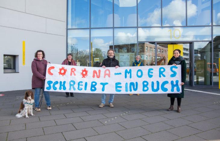 Stadt Moers – 'In Zeiten der Pandemie – Moers schreibt ein Buch'