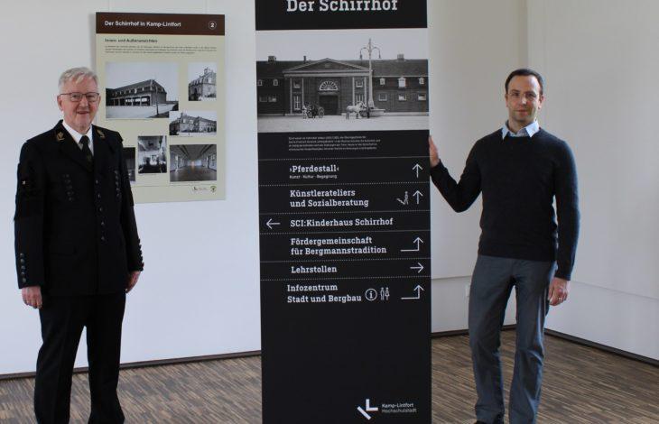 """Stadt Kamp-Lintfort – Die Geschichte des Schirrhofs – präsentiert im """"Pferdestall"""""""