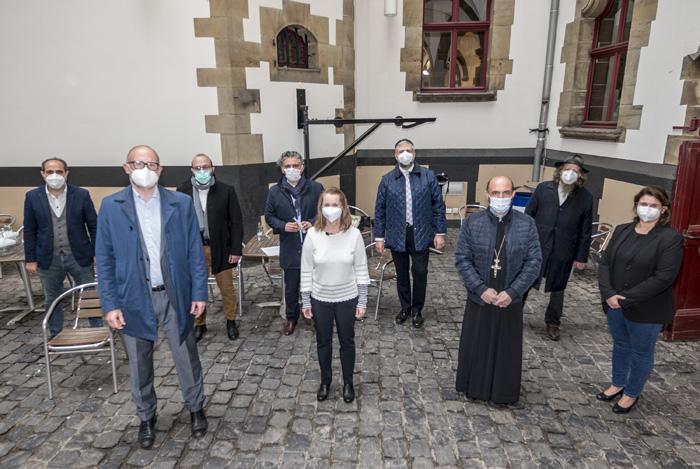 Stadt Duisburg – Verschiedene Duisburger Religionsgemeinschaften gedenken gemeinsam  der Corona-Opfer in der Stadt