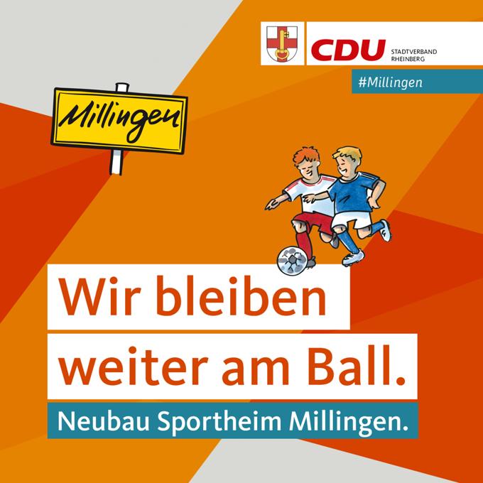 Rheinberg – CDU Stadtverband Rheinberg: CDU bleibt in Millingen weiter am Ball