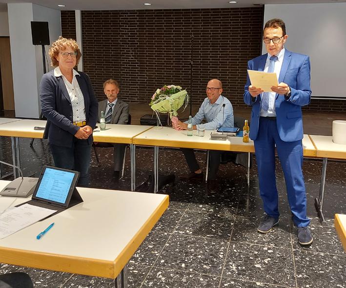 Stadt Kamp-Lintfort – Sabine Hermann ist seit über 15 Jahren Mitglied im Rat der Stadt Kamp-Lintfort