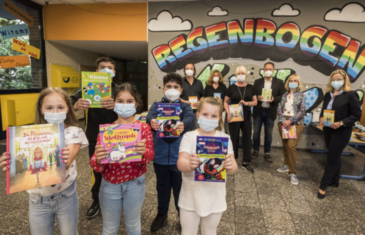 Stadt Duisburg – Lions-Club Duisburg-Concordia und Kulturstiftung Selbst.Los! organisieren Bücherspenden für sozial benachteiligte Kinder