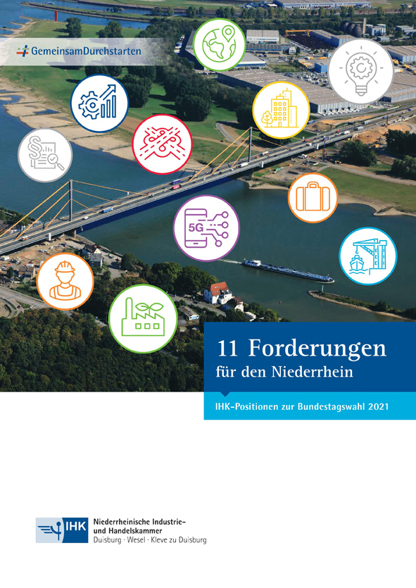 Region Niederrhein/Duisburg –  Niederrheinishe IHK: Grüne Industrie an Rhein und Ruhr