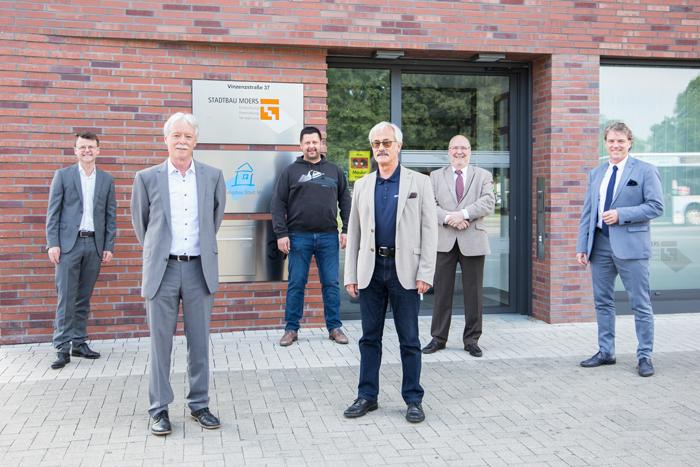 Stadt Moers – Staffelübergabe nach mehr als 30 Jahren: Beide Geschäftsführer abberufen