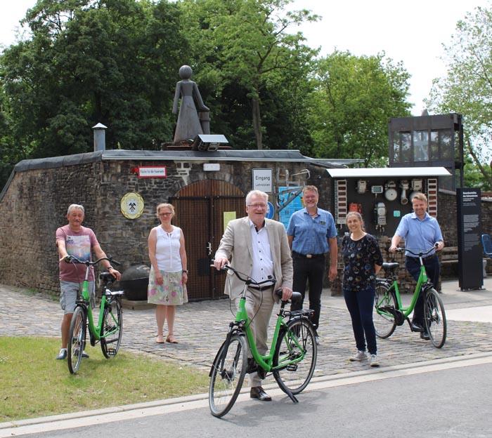 Stadt Kamp-Lintfort – Eröffnung der Radstation am Schirrhof