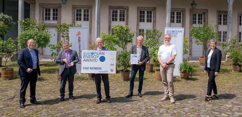 Stadt Rheinberg – Stadt Rheinberg erhält zum dritten Mal den European Energy Award für vorbildliche Klimaschutzarbeit