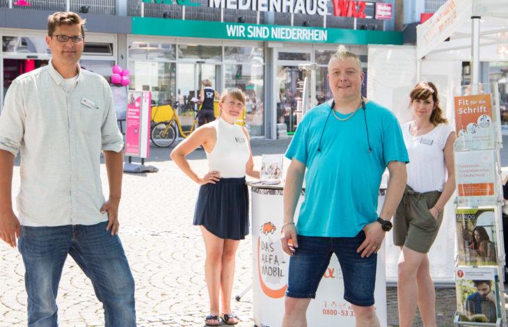 Stadt Moers – Lesen und Schreiben kann nicht jeder, aber jeder kann es lernen