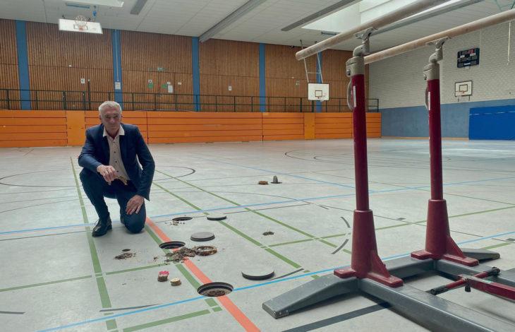 Stadt Neukirchen-Vluyn – JSG-Sporthalle vorübergehend nicht nutzbar
