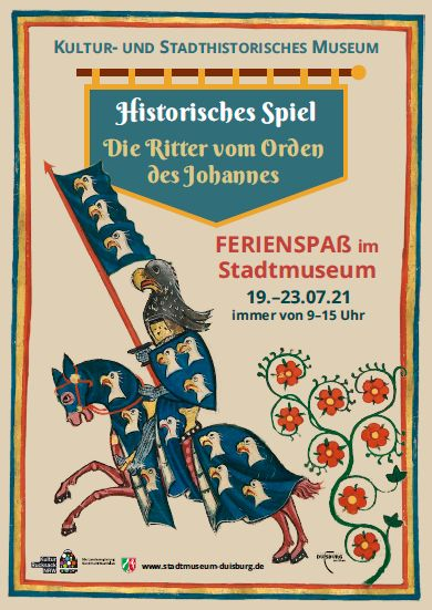 Stadt Duisburg – Mittelalterliches Ferienprogramm des Kultur- und Stadthistorischen Museums