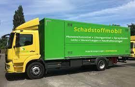 Stadt Rheinberg – Das Schadstoffmobil kommt nach Rheinberg