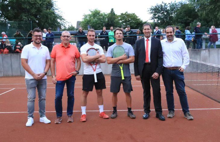 Stadt Rheinberg- Orsoy -SV Orsoy Tennisabteilung: Auftakt der II. Orsoyer Open unter Flutlicht gelungen