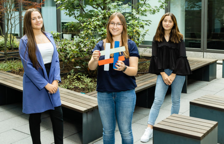 Region Niederrhein – Niederrheinische IHK – Niederrheinische IHK begrüßt drei neue Azubis