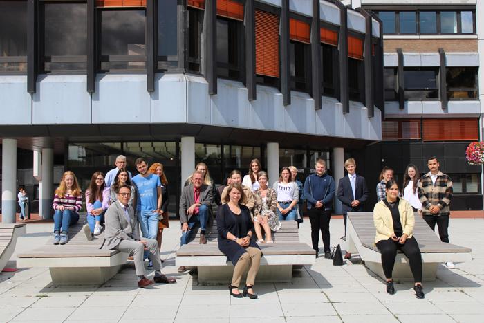 Stadt Kamp-Lintfort – Neue Auszubildende und Mitarbeiter/innen bei der Stadt Kamp-Lintfort