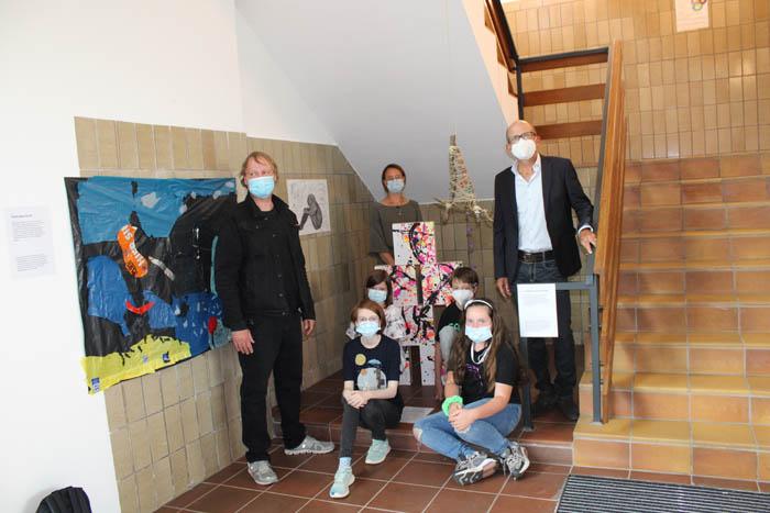 Stadt Kamp-Lintfort – Kinder stellen ihre Kunstwerke aus