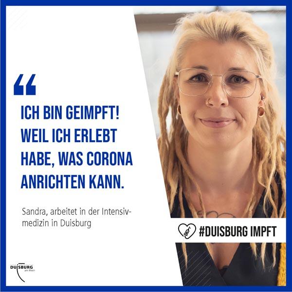 Stadt Duisburg – #duisburgimpft: Stadt wirbt mit Kampagne für Corona-Impfung