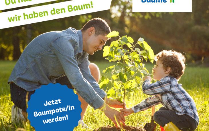 Stadt Kamp-Lintfort – Projekt Klimabäume: Weitere Baumpaten*innen gesucht