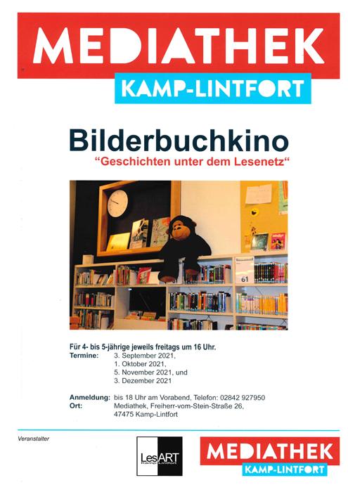 Stadt Kamp-Lintfort – Die neuen Vorleseangebote von LesART e.V. Kamp-Lintfort starten
