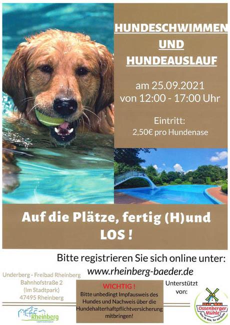 Stadt Rheinberg – UNDERBERG-FREIBAD AM 26.08.2021 GESCHLOSSEN