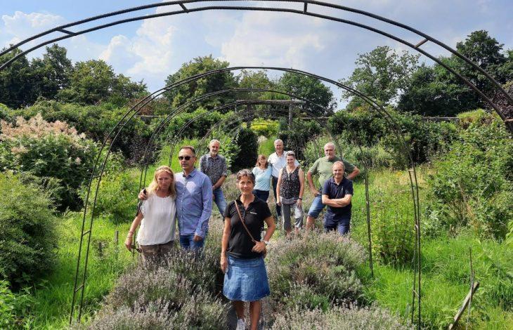 Gemeinde Alpen – Nachtreffen der Teilnehmer der offenen Gärten in Alpen
