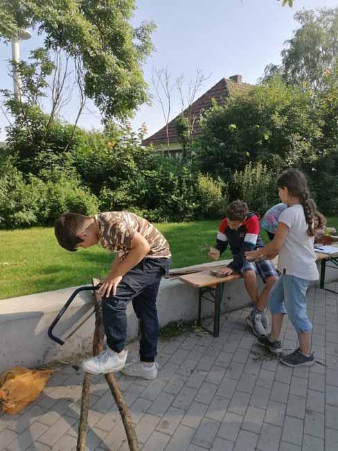 Stadt Moers – Ferienprogramm der Offenen Einrichtung Römerstraße
