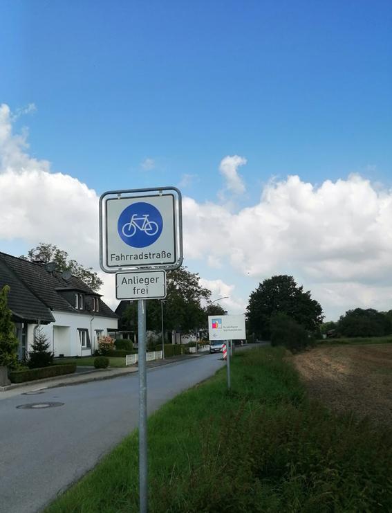 Stadt Neukirchen-Vluyn – Neue Fahrradstraßen in Neukirchen-Vluyn