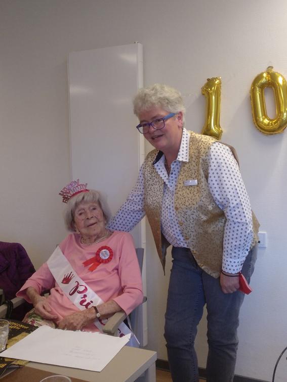 Stadt Kamp-Lintfort – Eva Wolf gfeierte 100. Geburtstag
